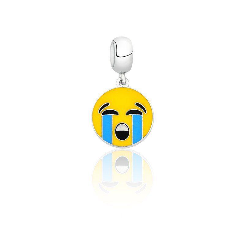 Berloque Emoji Chorando