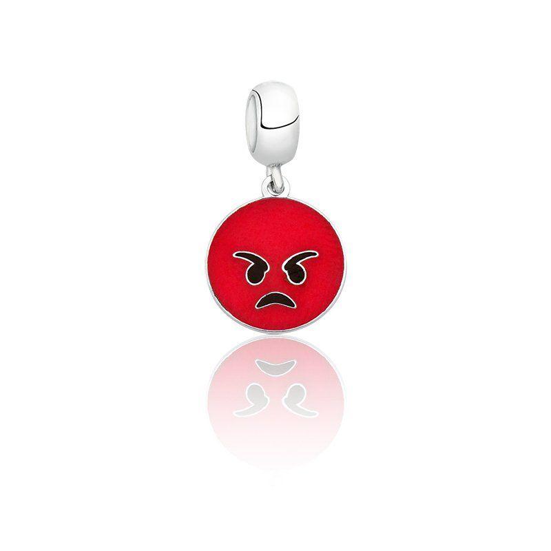 Berloque Emoji Raiva