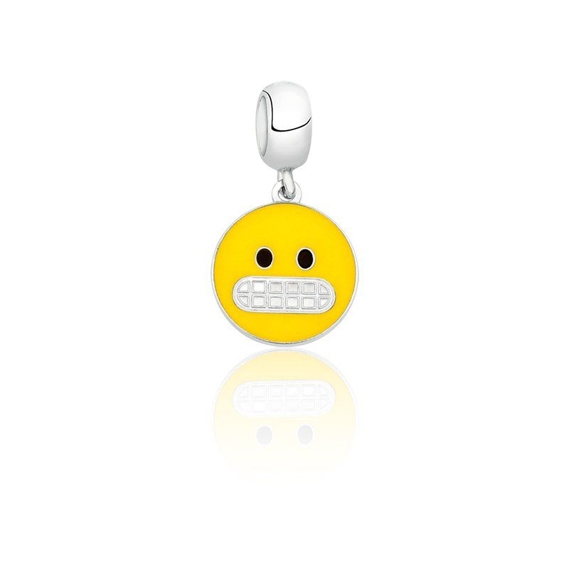 Berloque Emoji Sem Graça