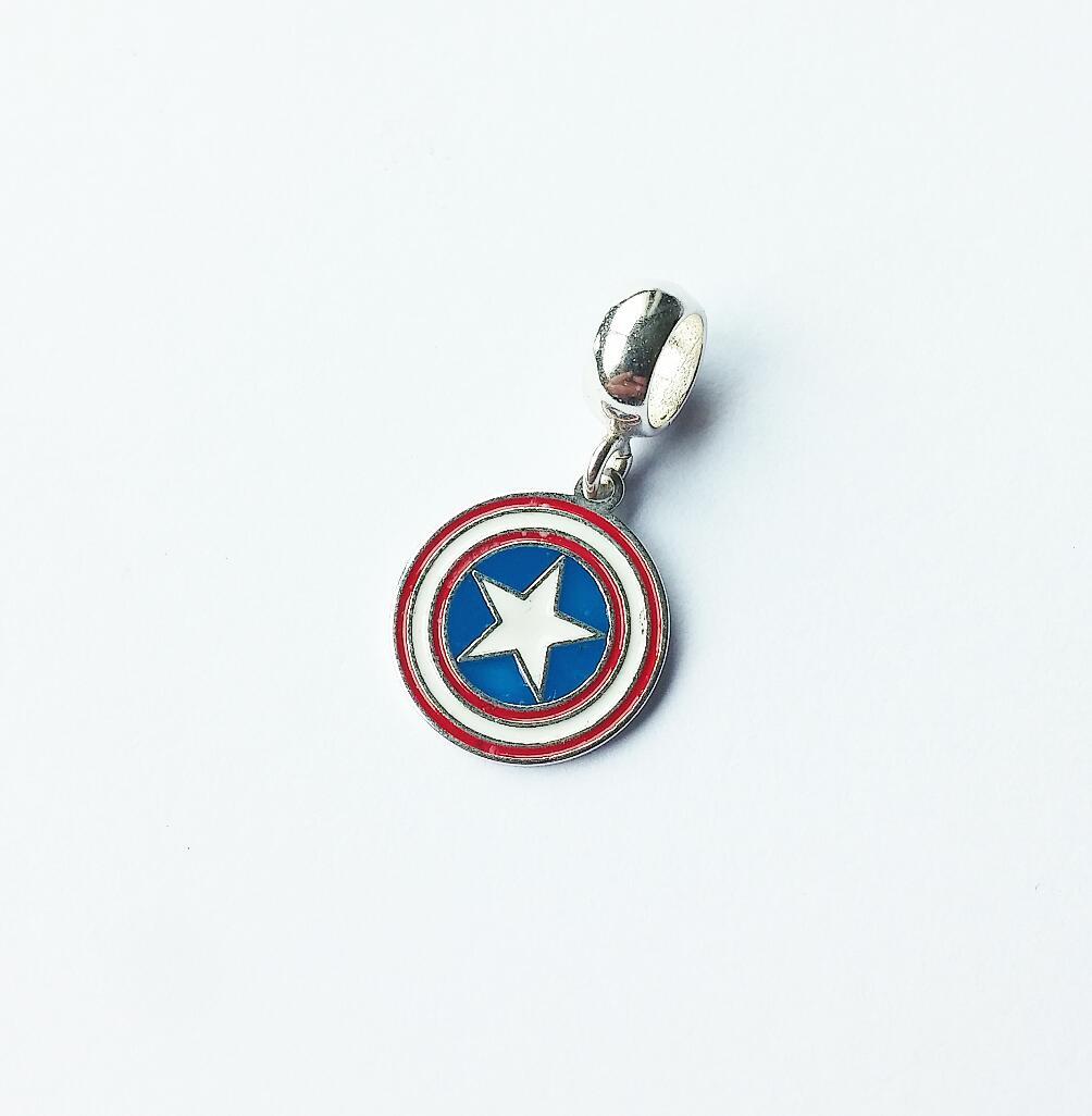 Berloque Escudo Capitão América