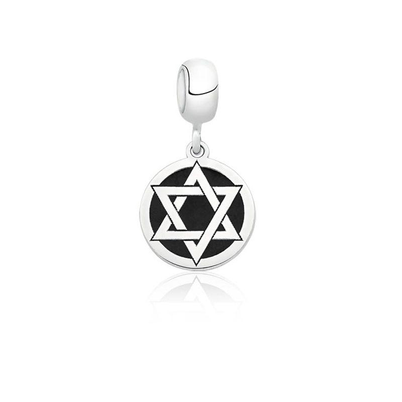 Berloque Estrela de Salomão