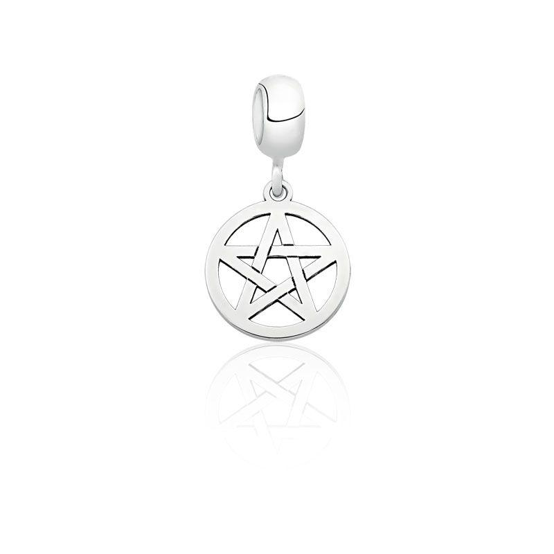Berloque Estrela de Davi Círculo