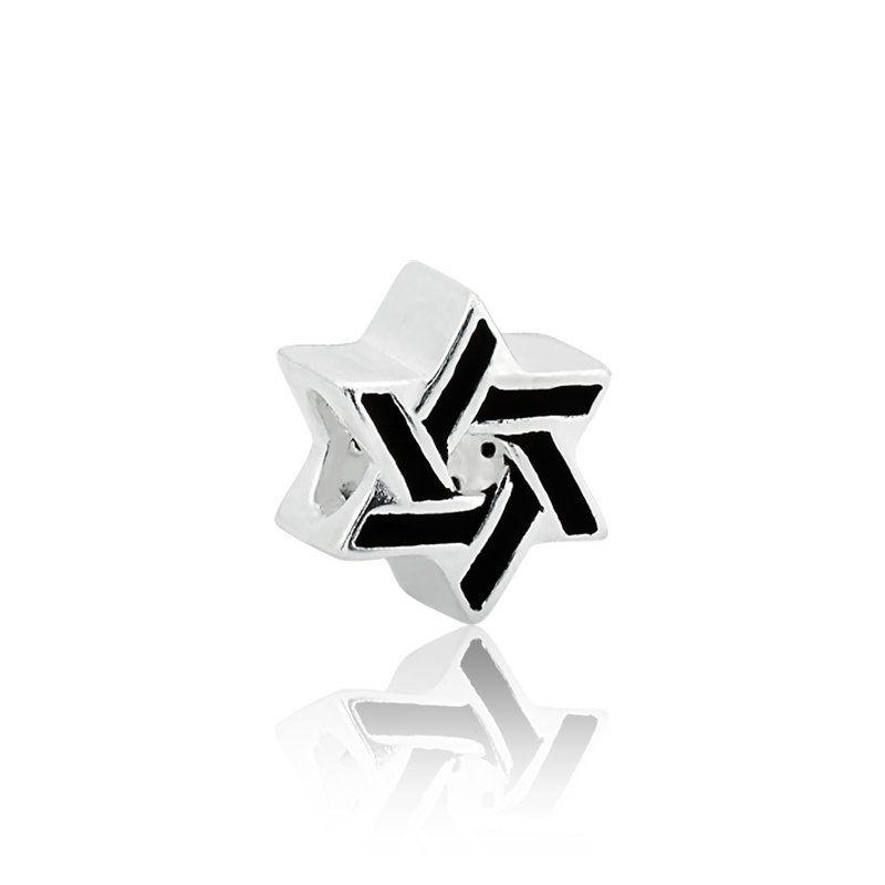 Berloque Estrela De Davi Zircônias