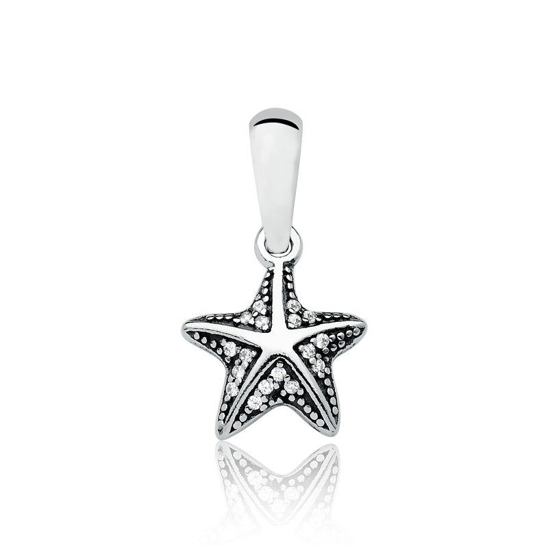 Berloque Estrela do Mar Brilhante