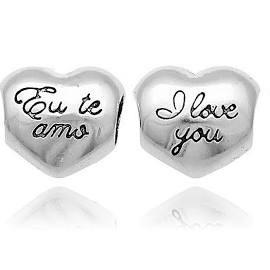 Berloque Coração Eu Te Amo