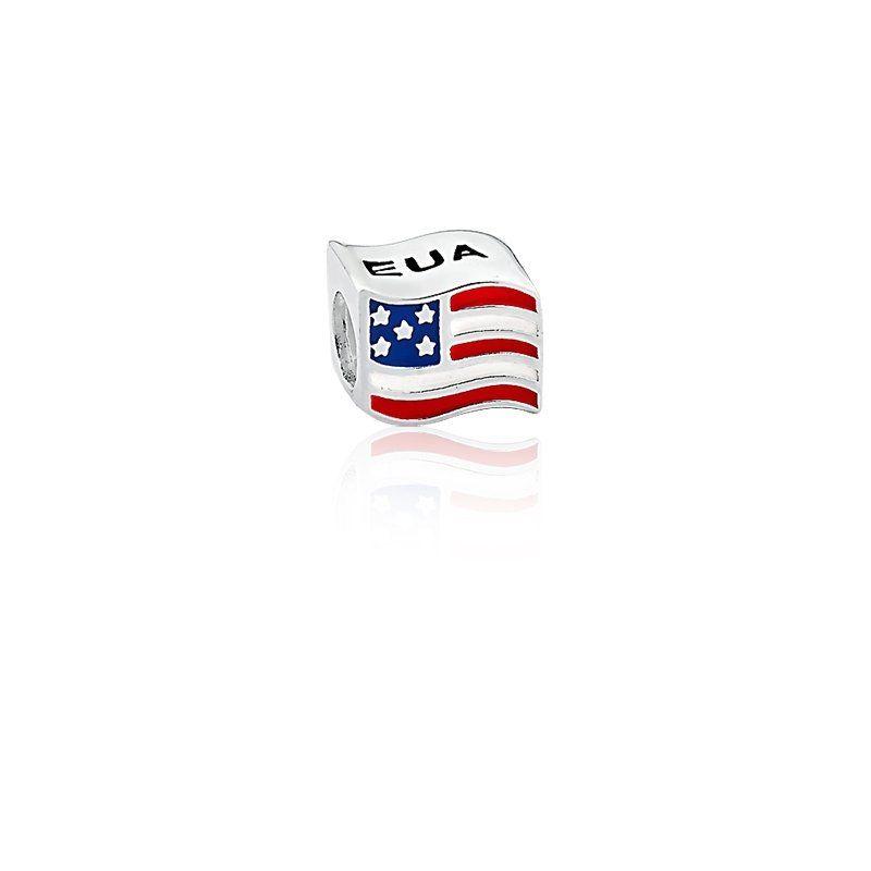 Berloque Brandeira Estados Unidos EUA
