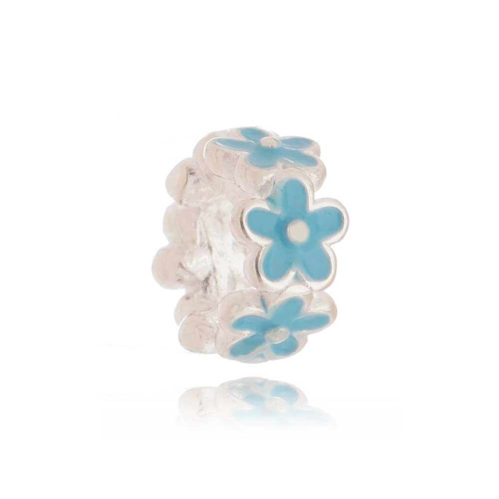 Berloque Flor Azul