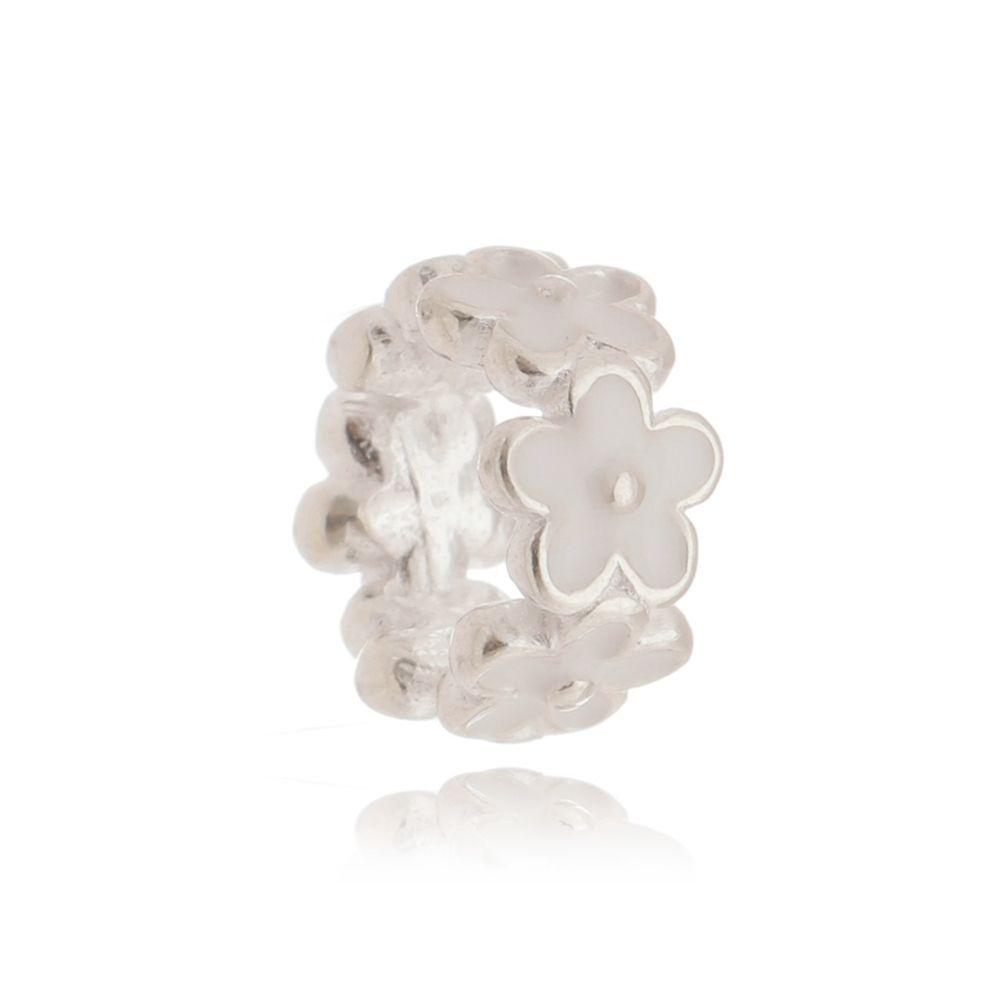 Berloque Flor Branca