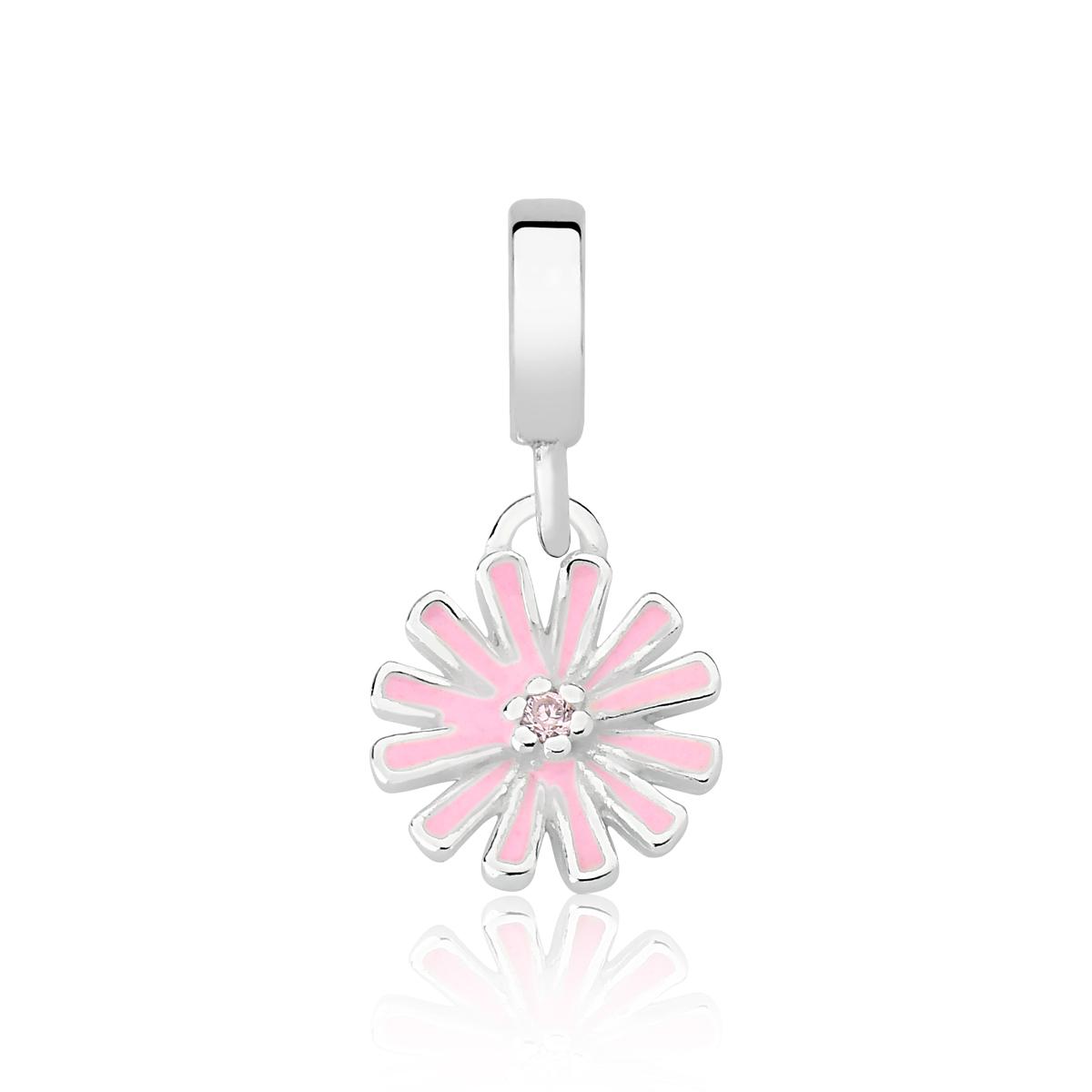 Berloque Flor Charmosa Pink