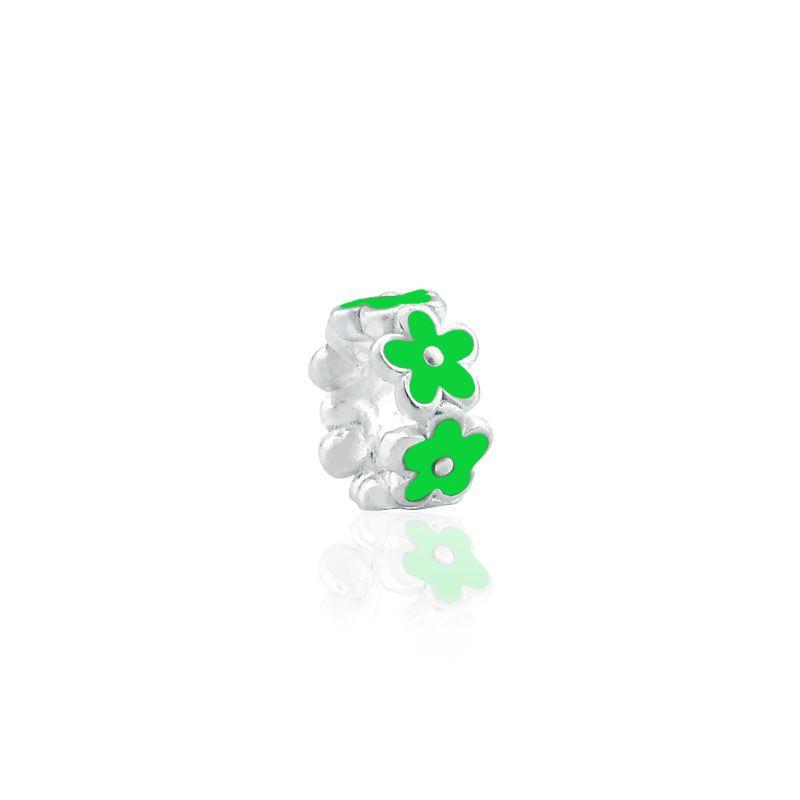Berloque Flor Verde
