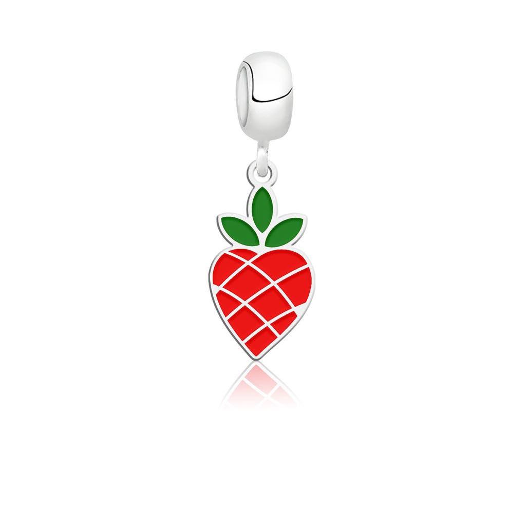 Berloque Fruta Morango