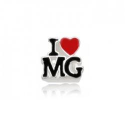 Berloque I Love Mg Eu Amo Minas Gerais