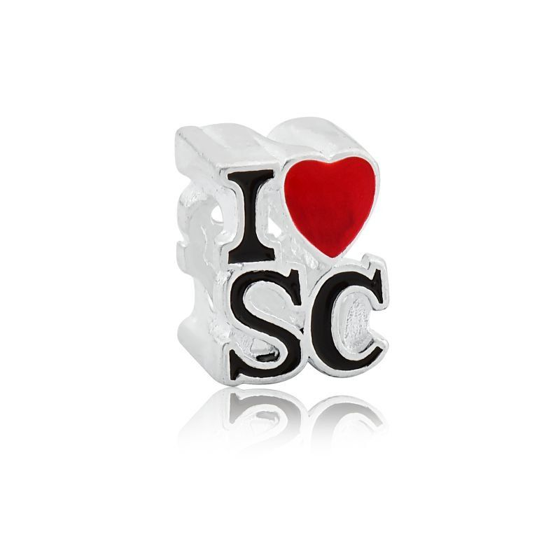 berloque I Love SC Eu Amo Santa Catarina