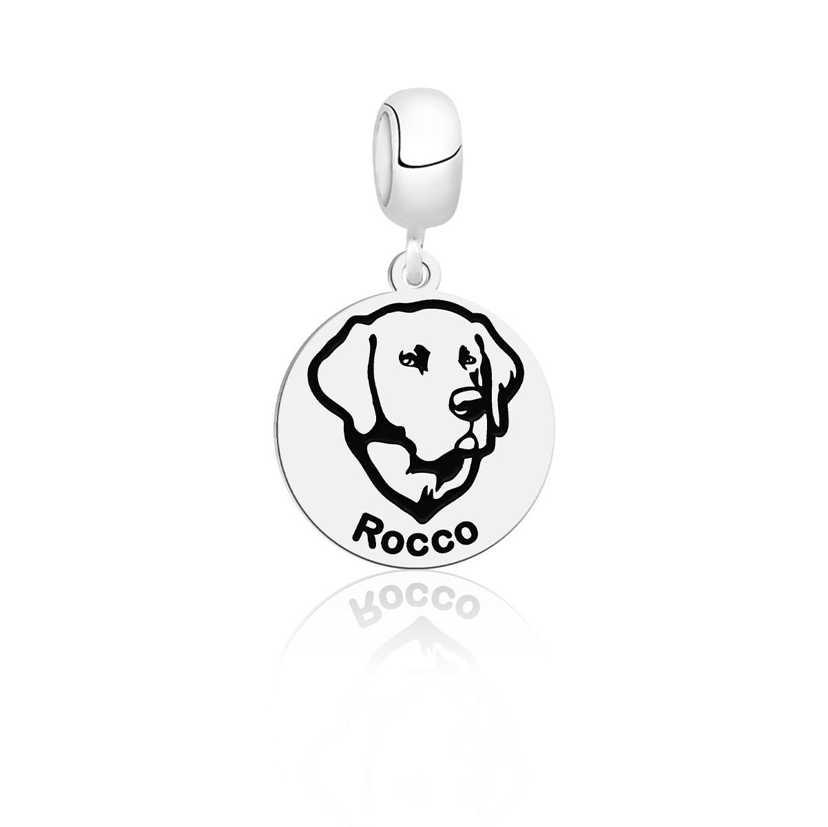 Berloque Raças Labrador Personalizado (Ler Descrição)