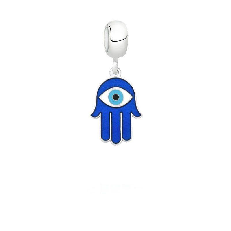 Berloque Mão de Fátima Azul
