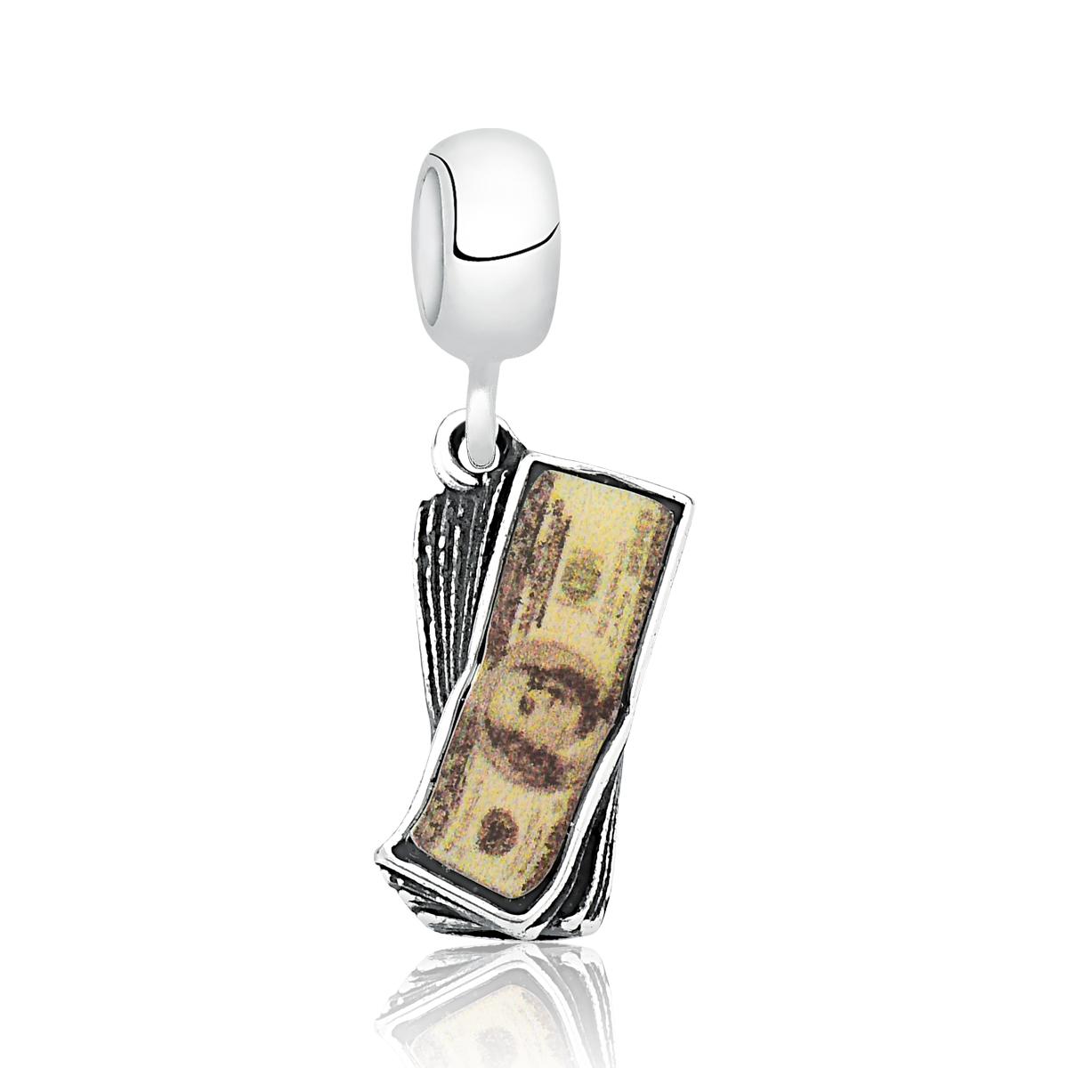 Berloque Notas de Dólar