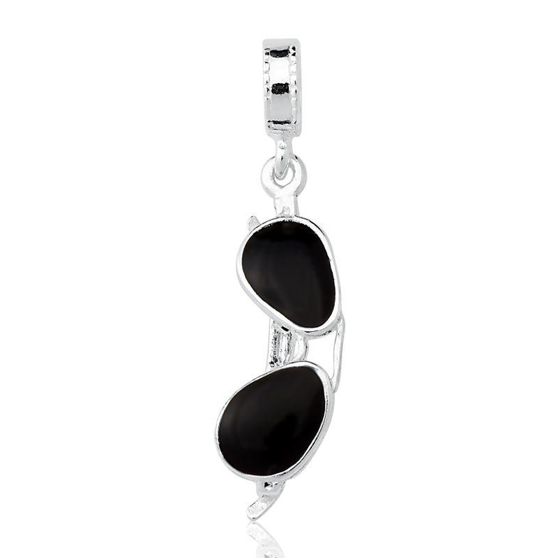 Berloque Óculos Preto