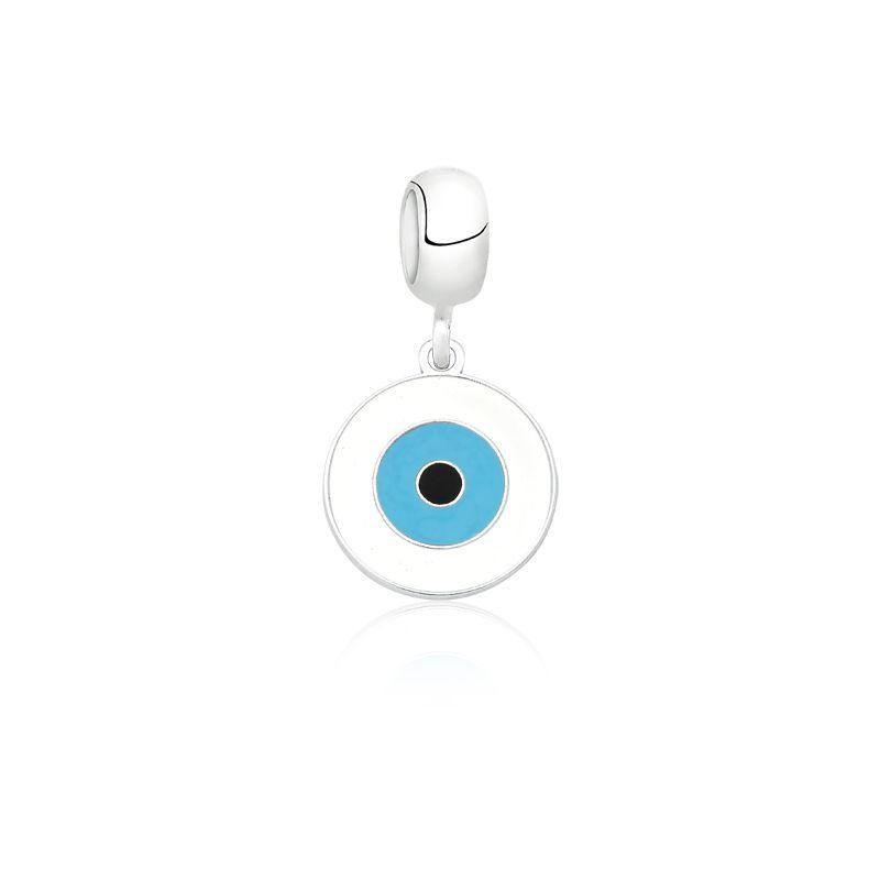 Berloque Olho Grego Branco I