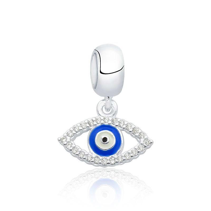 Berloque Olho Grego Zircônias