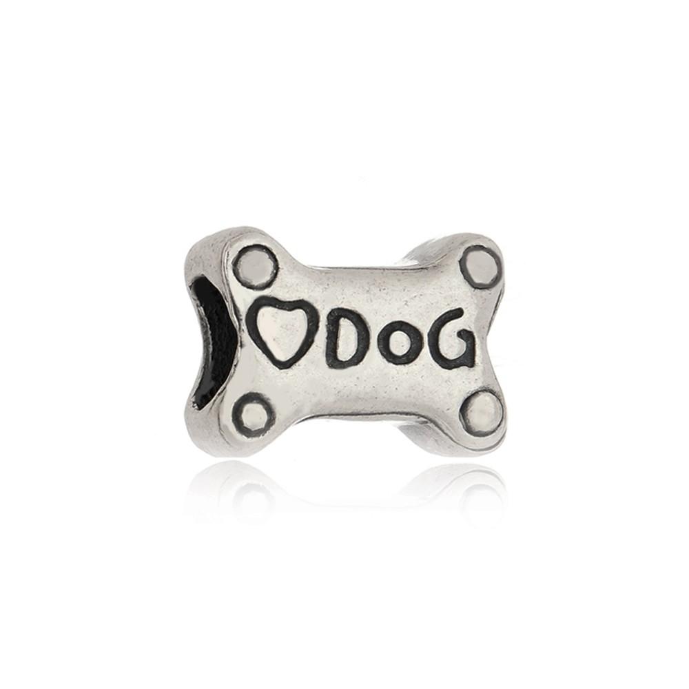 Berloque Osso De Cachorro Love Dog