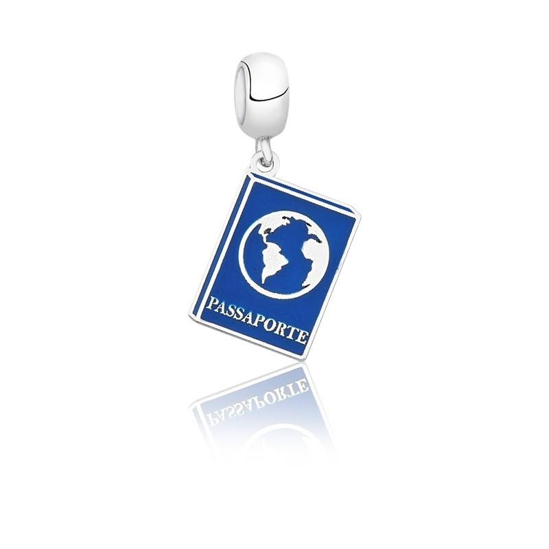 Berloque Passaporte Azul