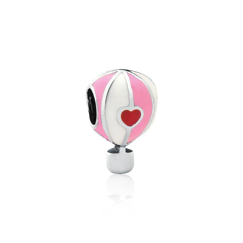 Berloque Separador Balão Rosa