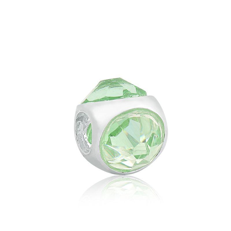 Berloque Separador Cristal Chrysolite