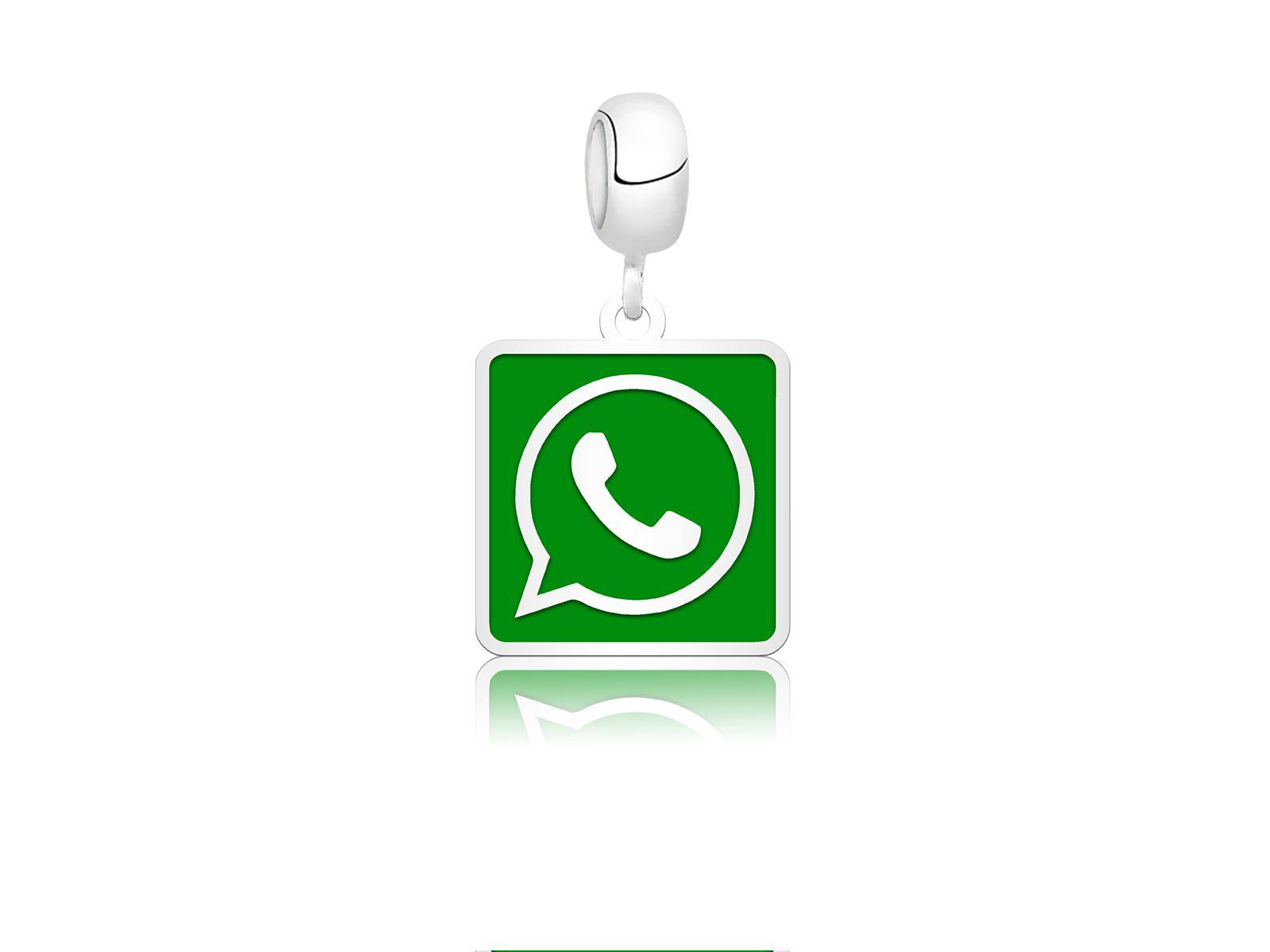 Berloque Whatsapp Quadrado