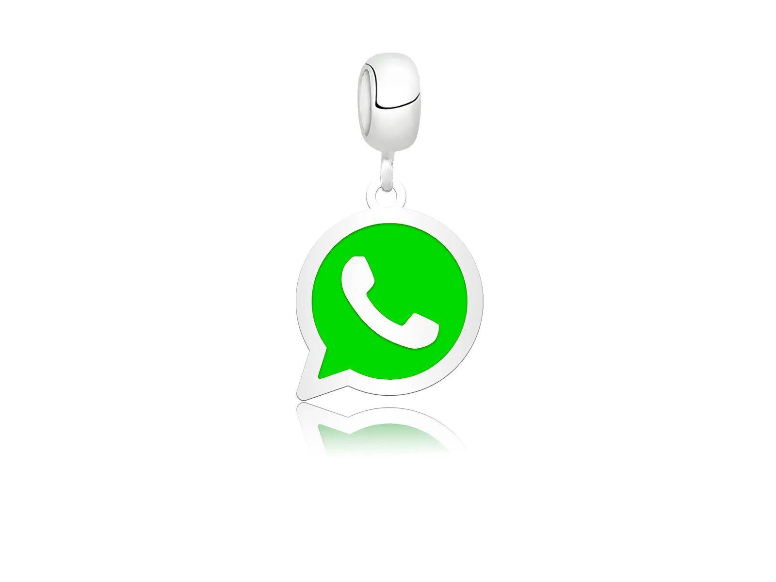 Berloque Simbolo Do Whatsapp Claro
