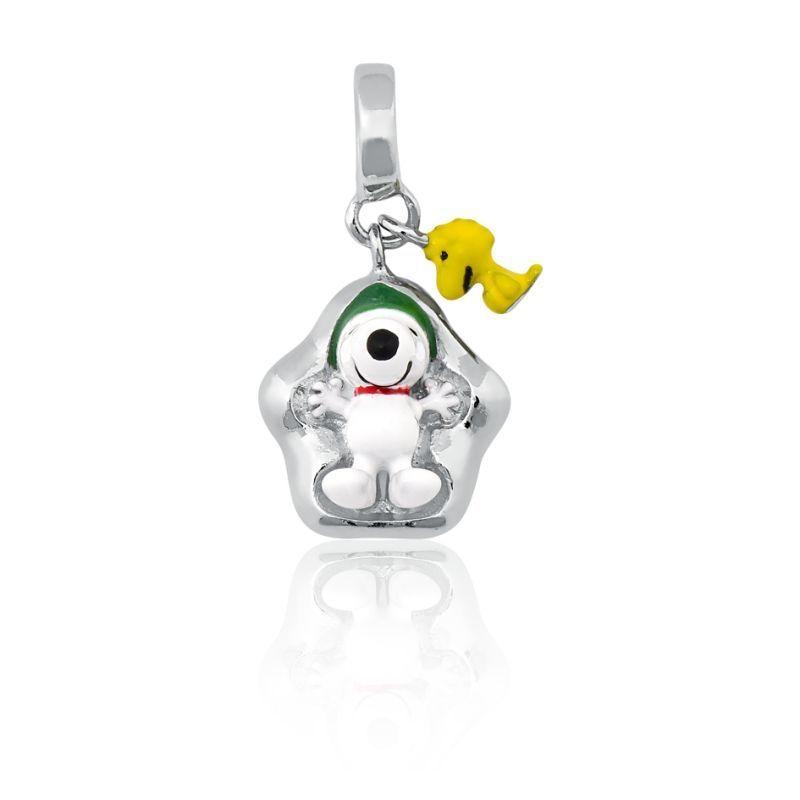 Berloque Snoopy na Neve
