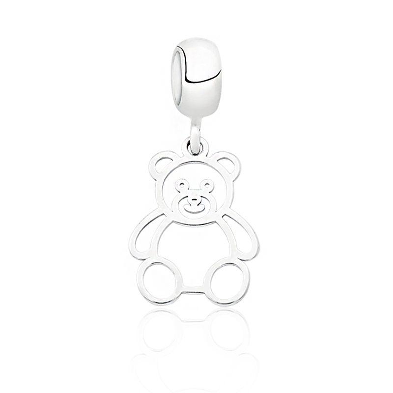 Berloque Urso Vazado
