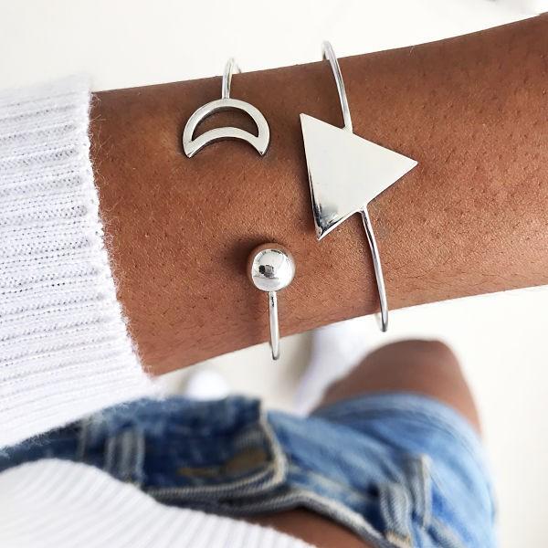 Bracelete Lua Minguante