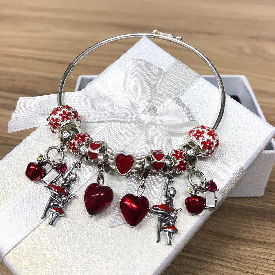 Bracelete Berloque Redondo 20 CM