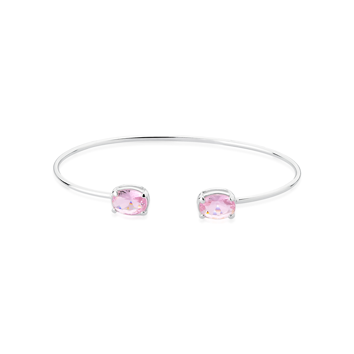 Bracelete Pedra Rosa
