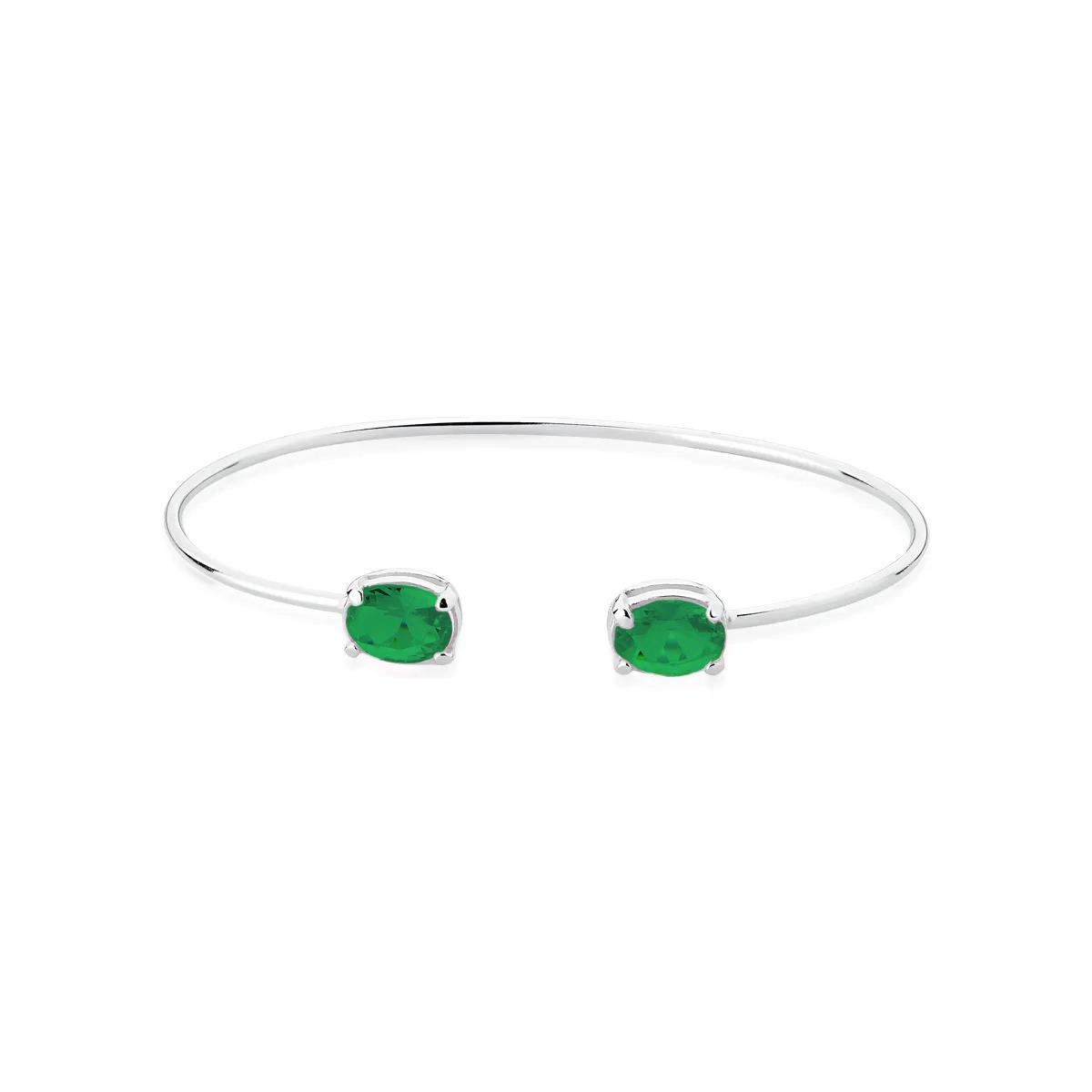 Bracelete Pedra Verde