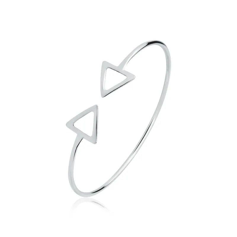 Bracelete Triângulos 17 MM