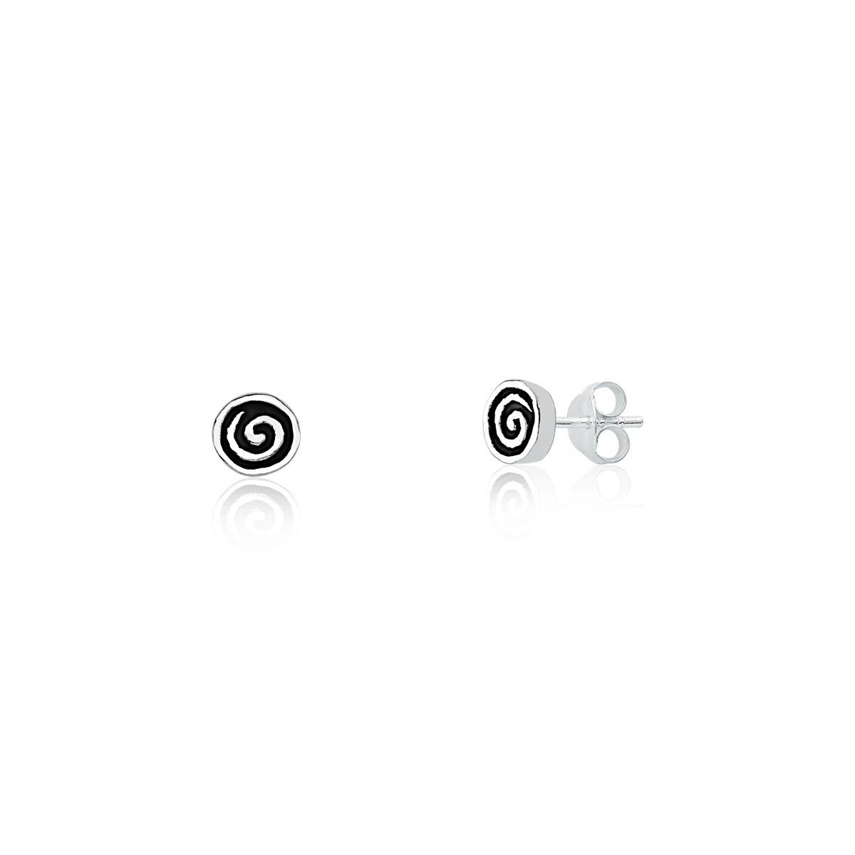 Brinco Círculo Espiral
