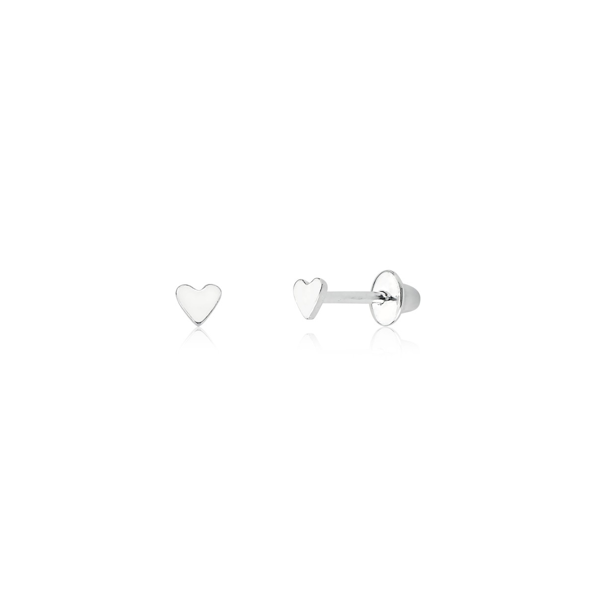 Brinco Coração Baby 3 MM