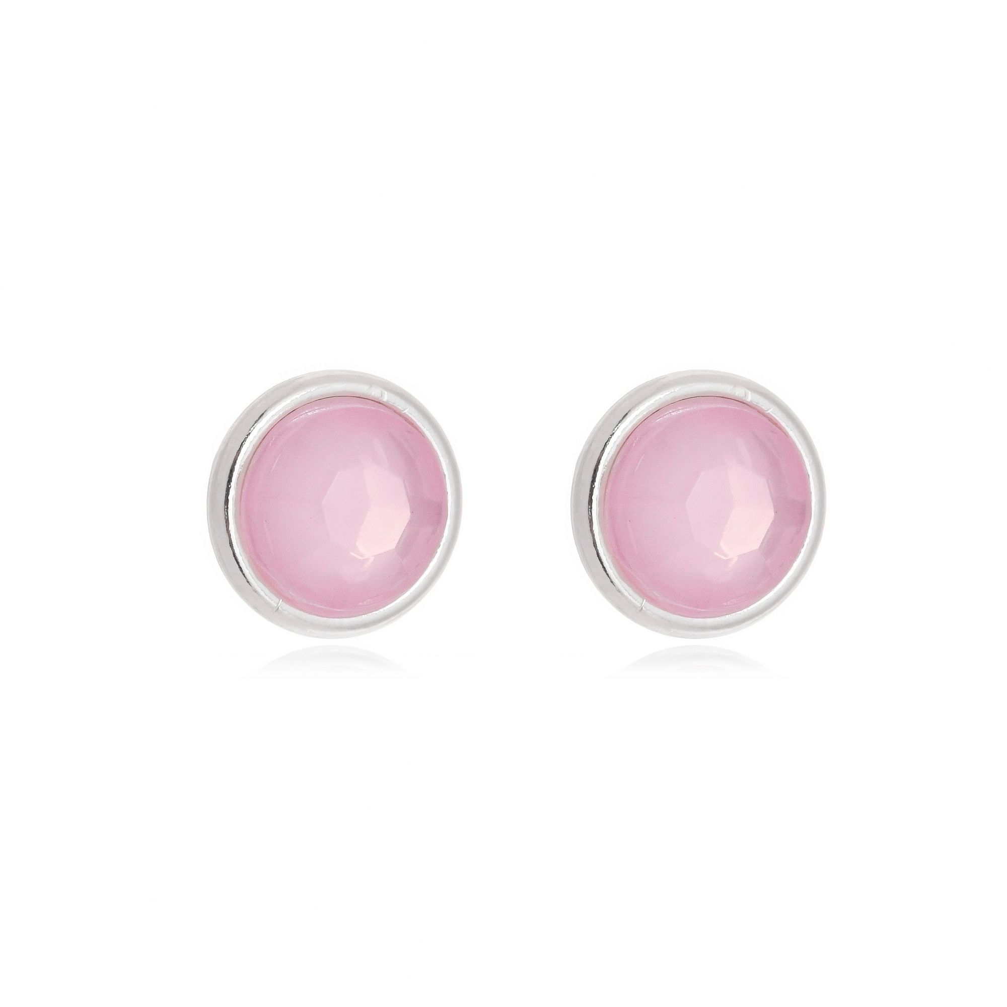 Brinco Cristal Rosa
