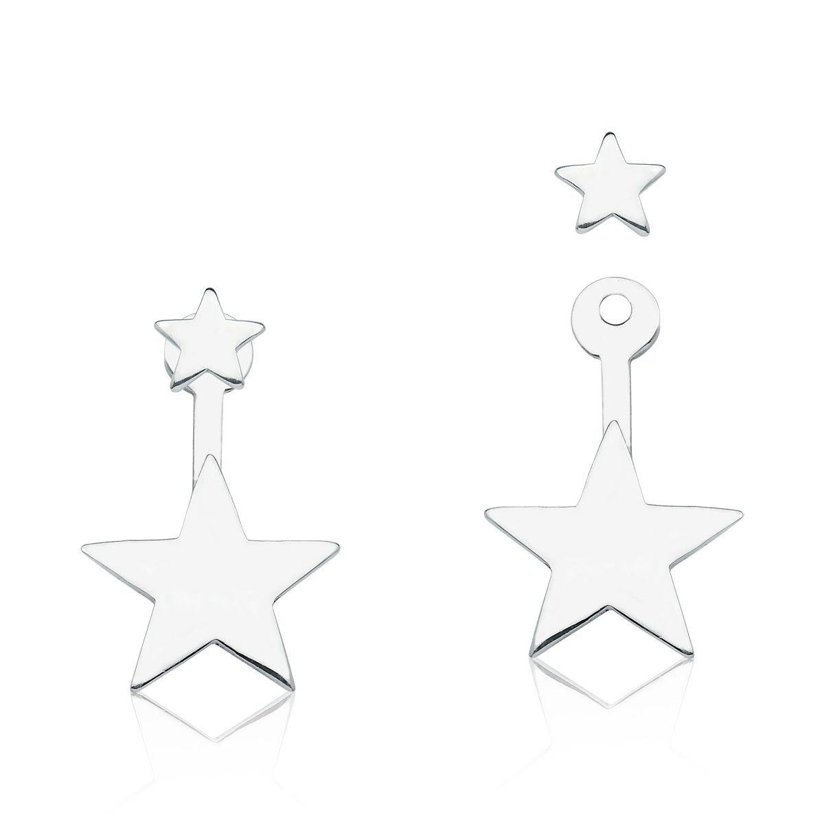 Brinco Duplo Estrelas