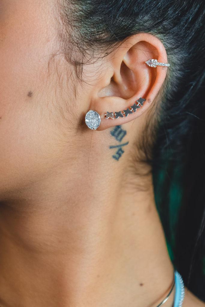 Brinco Ear Cuff Borboletas - Be Free