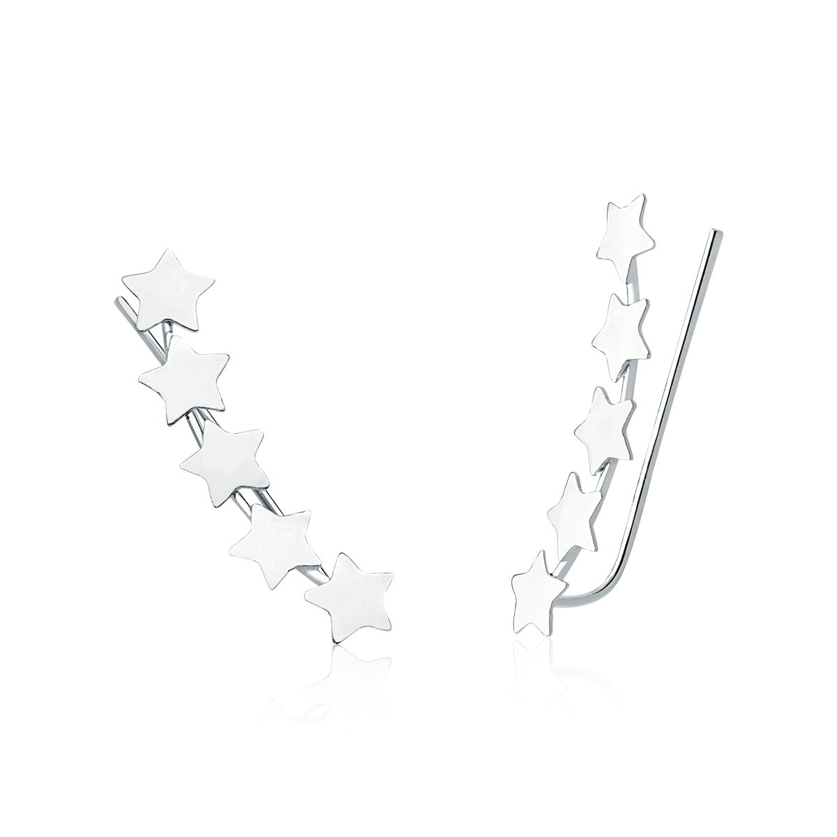 Brinco Ear Cuff Estrelas