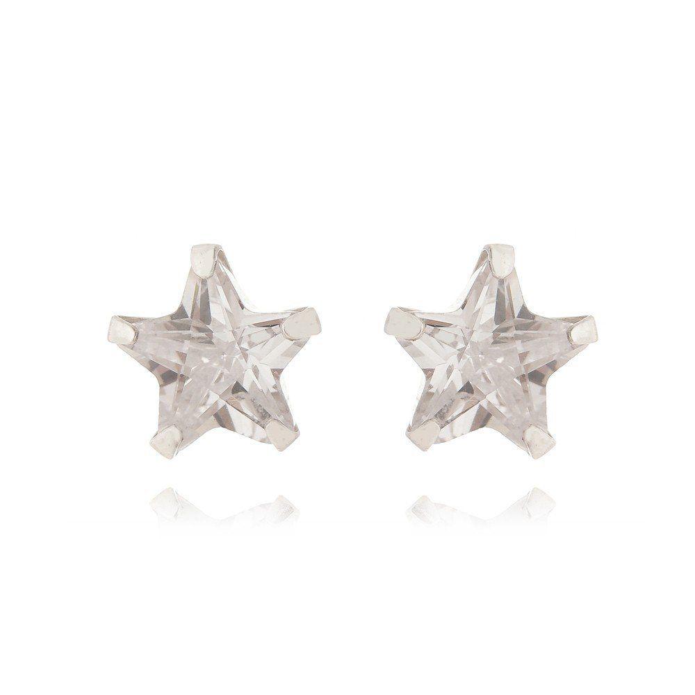 Brinco Estrela 4 MM