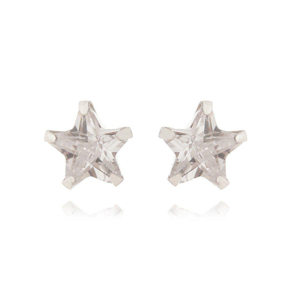 Brinco Estrela 8 MM