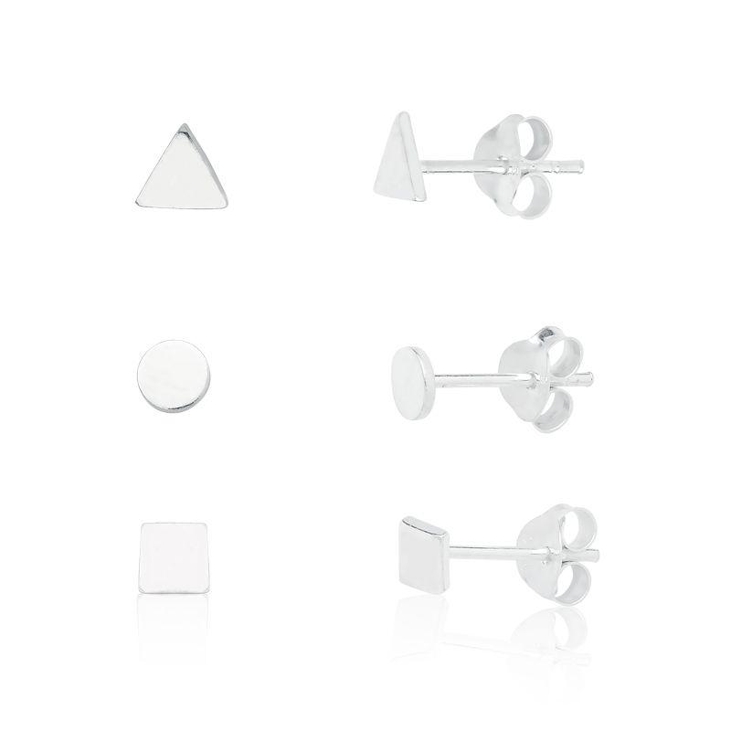 Brinco Formas Geométricas - Kit 03 Modelos