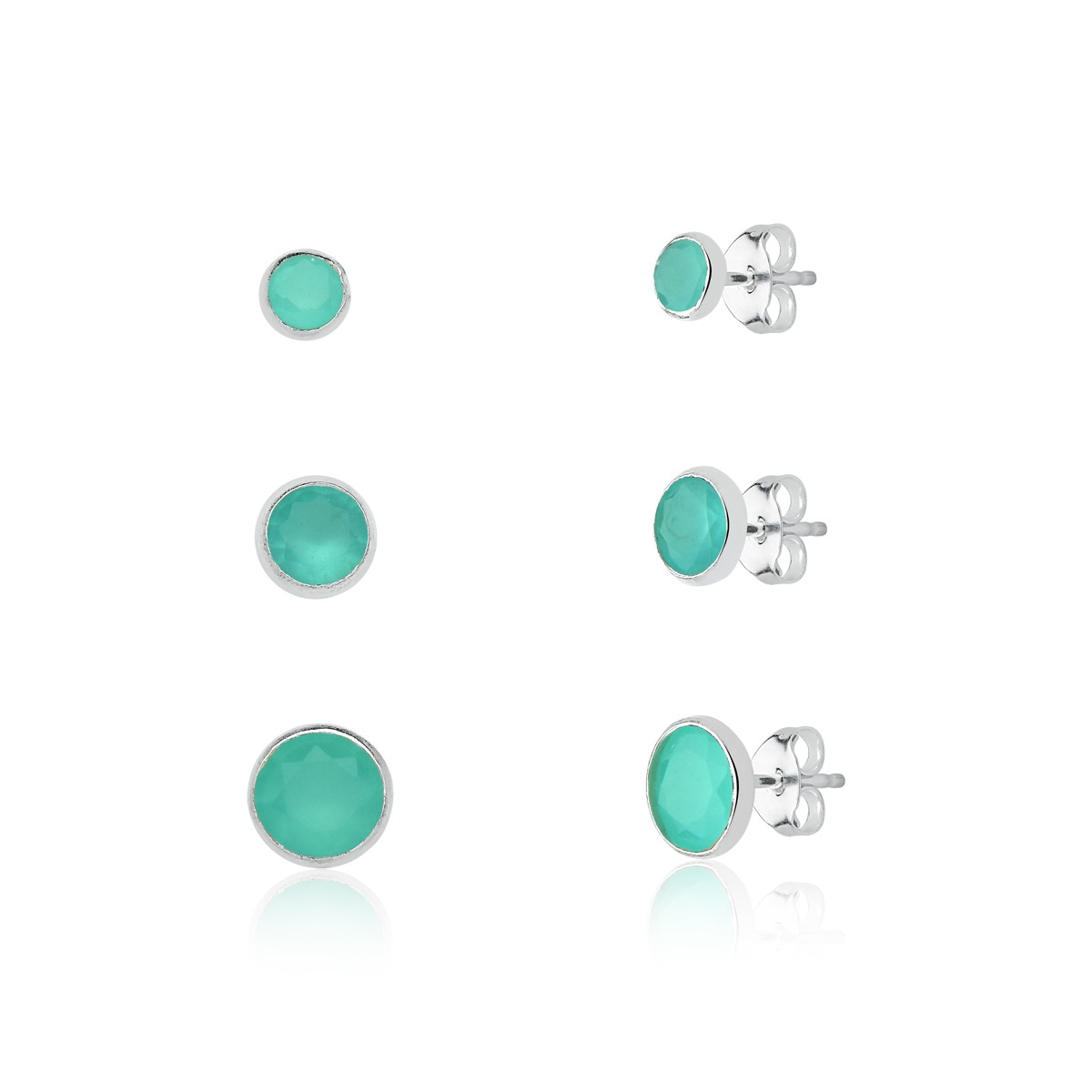 Brinco Kit Cristal Verde