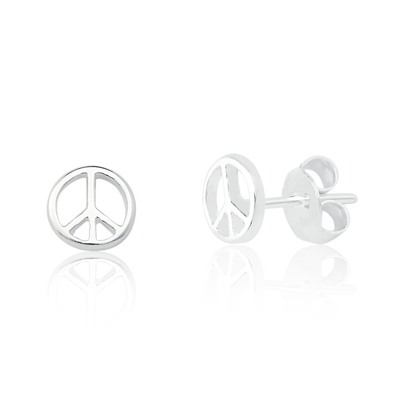 Brinco Paz e Amor 6 MM