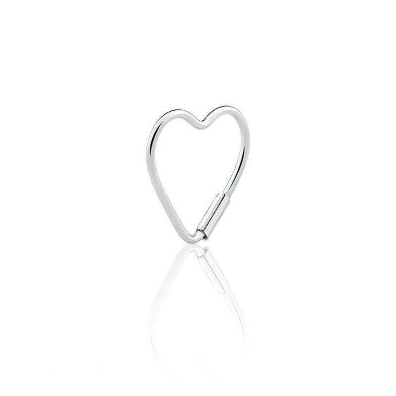 Brinco Piercing Coração 12 MM