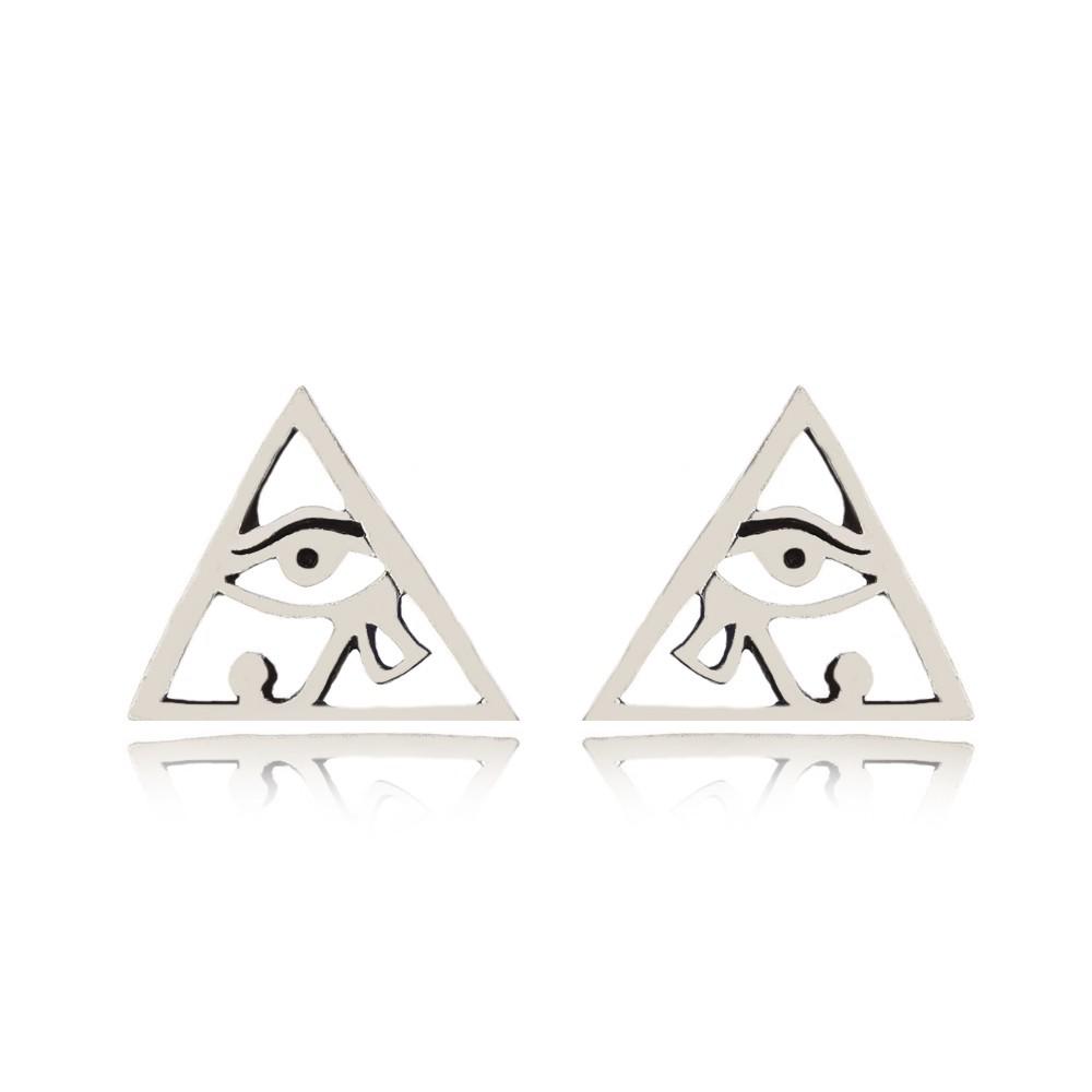Brinco Piramide Olho de Horus