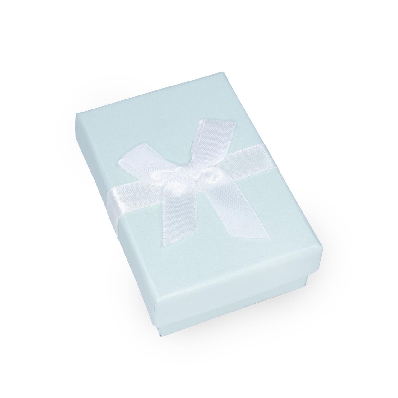Caixa de Presente Retangular Verde Claro
